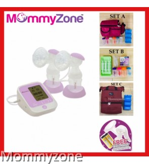 Autumnz PASSION Convertible Double Electric/Manual Breastpump + FREE GIFT