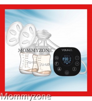 Youha Onyx Duo Black Series Double Electric Breast Pump