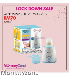 Autumnz - Home Use Bottle And Food Warmer (Blue / Lilac)