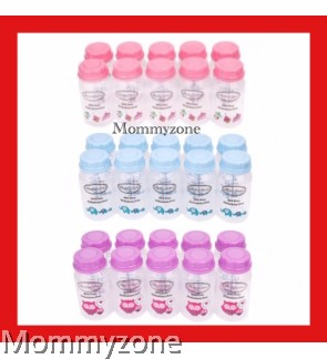 Autumnz - Standard Neck Breastmilk Storage Bottles 5oz (10 Bottles)