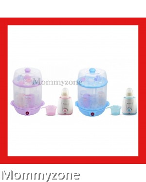 Autumnz - 2-in-1 Steriliser + Home Warmer Combo (Lilac / Blue)