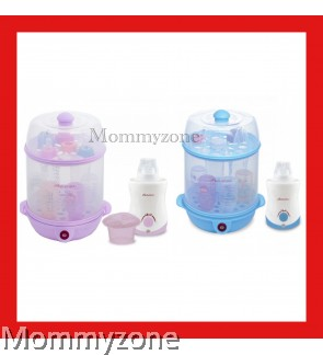 Autumnz - 2-in-1 Steriliser + Home And Car Warmer Combo (Blue / Lilac)