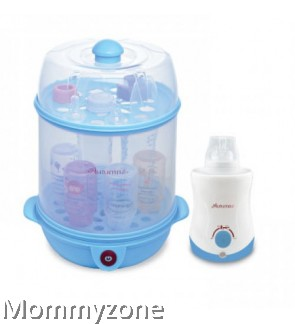 Autumnz - 2-in-1 Steriliser + Home And Car Warmer Combo (Blue)