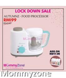Autumnz - 2-in-1 Baby Food Processor (Steam & Blend) *Turquiose