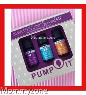 Pump It - Breastfeeding Survival Kit Package