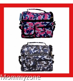 V-Cool Cooler Bag ( Grey Army / Pink Army)