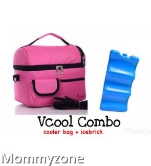 Cooler Bag + Ice Brick (COMBO SET)