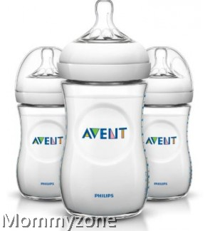 Philips Avent Natural Bottle 260ml/9oz (3 Bottles)