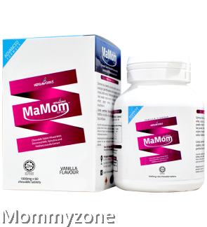 Mamom Milk Booster Chewable Tablet