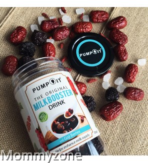 Pump It - Milkbooster Drink (Goji Berries)