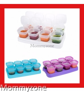 EASY Breastmilk & Baby Food Storage Cups (2oz)