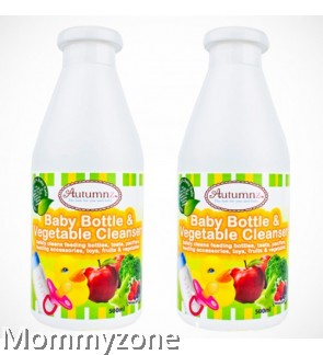 Autumnz- Baby Bottle And Vegetable Cleanser (500ml) - TWIN PACK