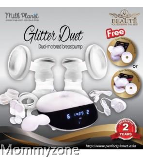 Milk Planet- Beaute Glitter Duet Double Breastpump