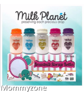 Milk Planet Celebrating Mom's Love Edition Breastmilk Storage Bottle