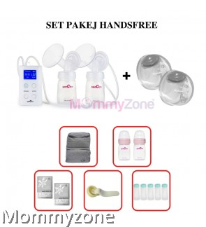 Spectra 9 + with Spectra Handsfree COMBO + FREE GIFT