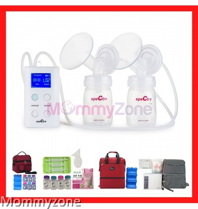 Spectra 9+ Double Electric Breast Pump With Rechargeable Battery