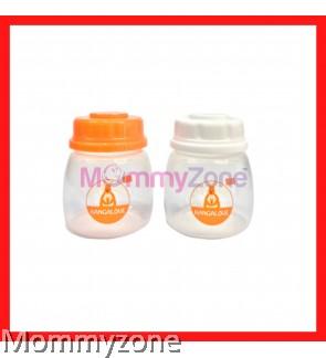 Kangalove 2oz BPA Free PP Breast Milk Storage Bottles (LOOSE PACK)