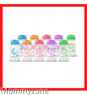 Kangalove - Breast Milk Storage Bottle 5oz/150ml (LOOSE) with Mix Color (NEW)