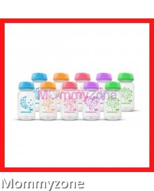 Kangalove - Breast Milk Storage Bottle 5oz/150ml (10pcs) with Mix Color (NEW)