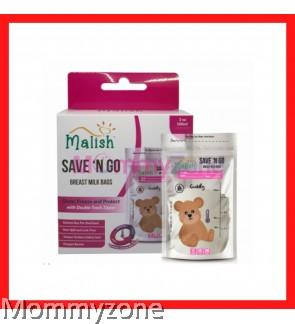 MALISH – BEAR THERMAL SENSOR BREAST MILK BAGS 3.4OZ/100ML (25BAGS)