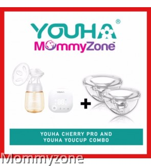 YOUHA CHERRY PRO SINGLE ELECTRIC BREAST PUMP + YOUHA YOUCUP