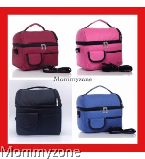 COOLER BAG ( BLACK / MAROON / BLUE / PINK )