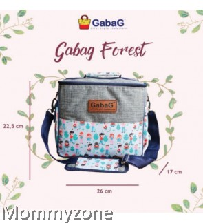 GABAG - SINGLE SLING FOREST + FREE GABAG ICE PACK 2PCS
