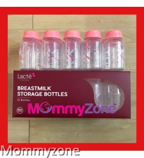 LACTE - BREASTMILK STORAGE BOTTLE (10 PCS)