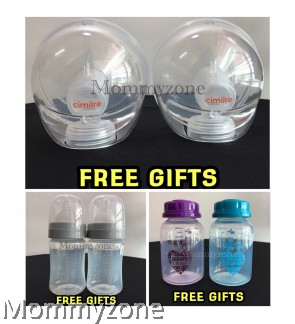 FREE GIFT CIMILRE F1 / S5 ( CIMILRE HANDSFREE KIT 2PCS / CIMILRE BOTTLE WIDENECK 2PCS / STORAGE BOTTLE STANDARD NECK 2PCS)