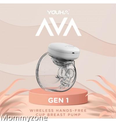 Youha Ava Gen 1 Wearable Breastpump and Wireless Handsfree Breast Pump