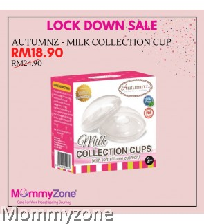 Autumnz - Milk Collection Cups *With Soft Silicone Cushion* (2pcs)